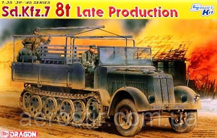 Sd.Kfz.7 8t late Production 1/35 DRAGON 6562