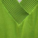 Джемпер зелений в'язаний жилет, фото 8