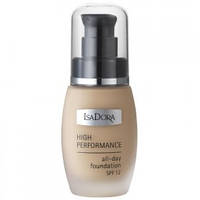Тональный крем - IsaDora High Performance All-Day Foundation SPF12