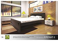 Кровать деревянная Элегант -1