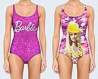 """Купальник женский 3D """"Barbie"""" (р.40-50)"""