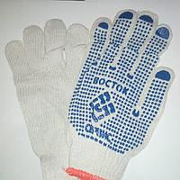 Перчатки хозяйственные Восток, плотные,12пар.