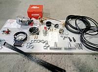 Комплект ГБО 2 поколения с редуктором Atiker на инжектор с б/у баллоном под запаску(таблетка)