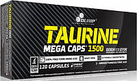 Taurine Mega Caps Olimp, 120 капсул