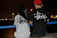 """Парные футболки для двоих """"Stussy (c)"""""""