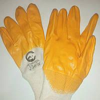 Перчатки хозяйственные, желтая,размер #8,12пар.
