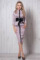 Красивый женский нежно-розовый костюм 40,44,46,48 р-ры.