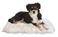 Trixie TX-2851 коврик для кота или собачки 45 × 45 см из натуральной овчины