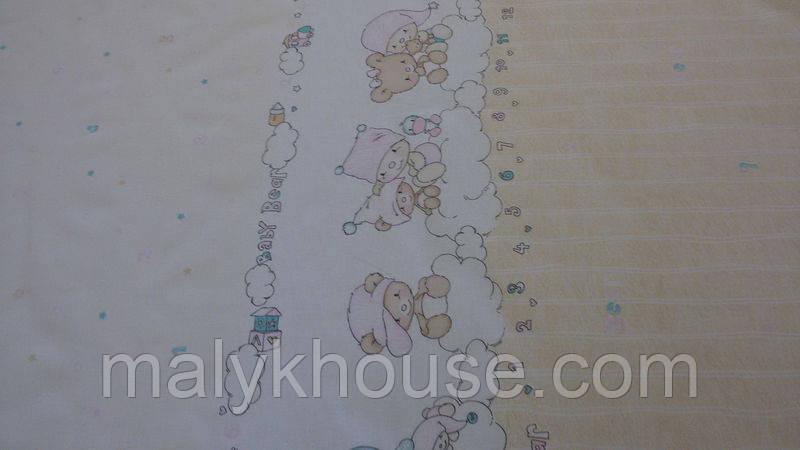 Пододеяльник на одеяло для новорожденных (120х90см)