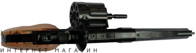 револьвер major berg 4.5 бук с открытым барабаном