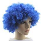 Парик клоуна -синий
