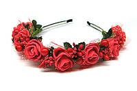 Обруч для волос с цветами Розы