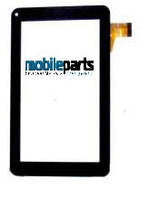 Оригинальный Сенсор (Тачскрин) для планшета  Jeka JK-103 3G (255*146) (Черный - Самоклейка)