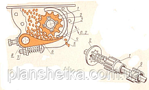 Сеялка зерновая 2BFX-12 (12 рядная) ДТЗ, фото 3