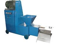 Пресс брикетировщик для производства топливных брикетов производительностью 150 и  220 кг/час