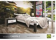 Кровать деревянная Сакура -2
