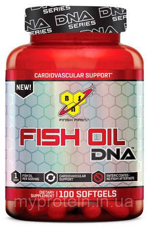 BSN Рыбий жир Fish Oil DNA EU (100 softgels)
