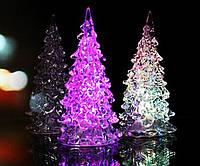 Новогодняя Статуэтка LEDЕлочка Мини Светильник Елка 12 см 10 шт