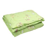 Одеяло в детскую кроватку для новорожденных 120х90см