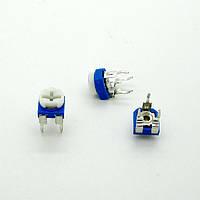 Резистор подстроечный горизонтальный WH06-2 500 Ом