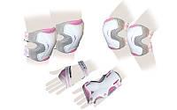 Защита для роликов детская ZELART GRACE розовая