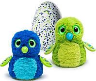 Интерактивная игрушка Драко в яйце Draggles (синий-зеленый) Hatchimals  (SM19100/6028895)