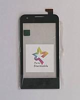 Сенсорный экран для мобильного телефона Prestigio MultiPhone 4040 Duo, черный (ZHT05M04001-FPC-2)