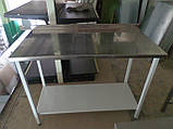 Стол из нержавеющей стали б/у, нержавейка стол, стол с нержавейки б у, стол производственный б/у, производстве, фото 2