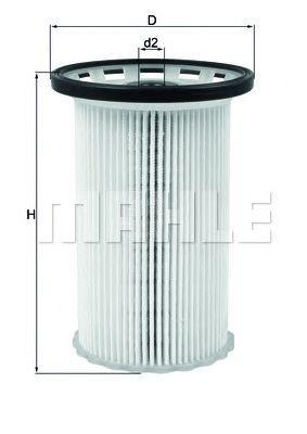 Купить Фильтр топливный MAHLE ORIGINAL KX342, Mahle Filter