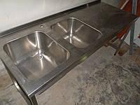 Стол производственный мойки и Столы из нержавейки, фото 1