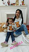 """Женский свитшот трехнить """"Мишка Теди"""""""