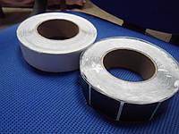 Противокражная черная наклейка 3х4 б у, Магнитный чип б у, магнитная лента б у, антикражная наклейка б у.