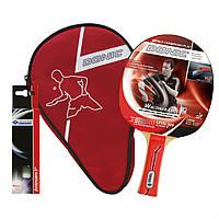 Набор для пинг-понга Donic Waldner 600 Gift set ракетка+чехол+3 мяча (788481), фото 1