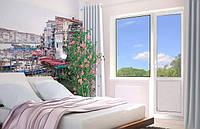 Балконный блок Rehau'60 (балконная дверь и окно)