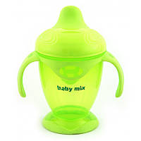 Поильник-непроливайка Baby Mix 200 ml RA-C1-1711 green