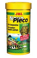 JBL Novo Pleco 5,5л/2700g  корм в виде чипсов с водорослями для растительных донных рыб
