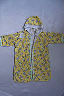 Конверт для новорожденных  хлопковый теплый желтый