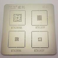 BGA трафарет для микросхем MT6290MA, MT6169V, MT6369A, MT6165V