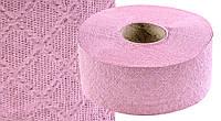 Папір туалетний Джамбо малий, одношаровий, макулатурний, рожевий
