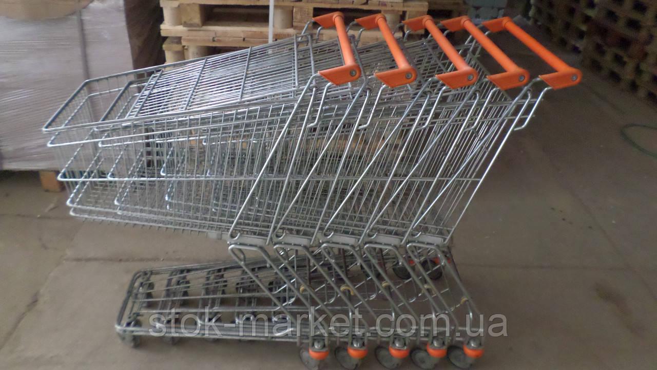 Торговые тележки б у, тележки б/у, покупательские тележки б у, тележки для супермаркетов б/у, тележки для поку