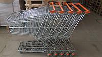 Торговые тележки б у, тележки б/у, покупательские тележки б у, тележки для супермаркетов б/у, тележки для поку, фото 1