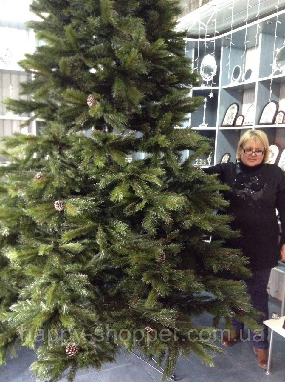 Искусственная елка Премиум Люкс с шиками 450 см.