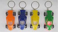 """Брелок F16 для ключей пластик светящийся """"Машина"""" уп48"""