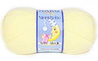 Детская пряжа нитки для вязания Nako Ninni Bebe