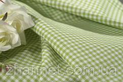 Декоративная ткань Ibiza клетка  (салатовый)