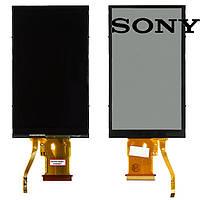 Дисплейный модуль (дисплей + сенсор) для цифрового фотоаппарата Sony DCS-T700, черный, оригинал