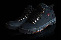 Зимние  мужские ботинки кроссовки  с мехом Columbia  мужские