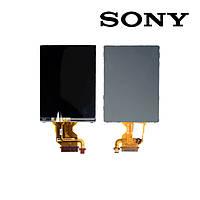 Дисплейный модуль для цифрового фотоаппарата Sony DSC-T2, с рамкой, черный, оригинал