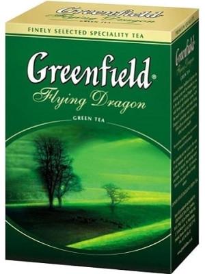 Зеленый чай Greenfield Flying Dragon листовой 100гр.