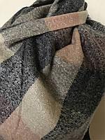 Теплый модный шерстяной шарф